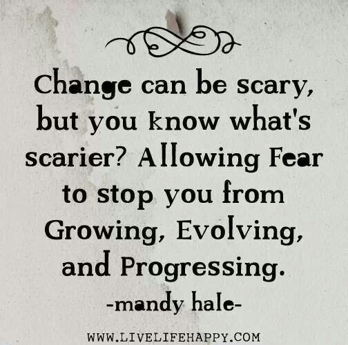 Image result for change is scary